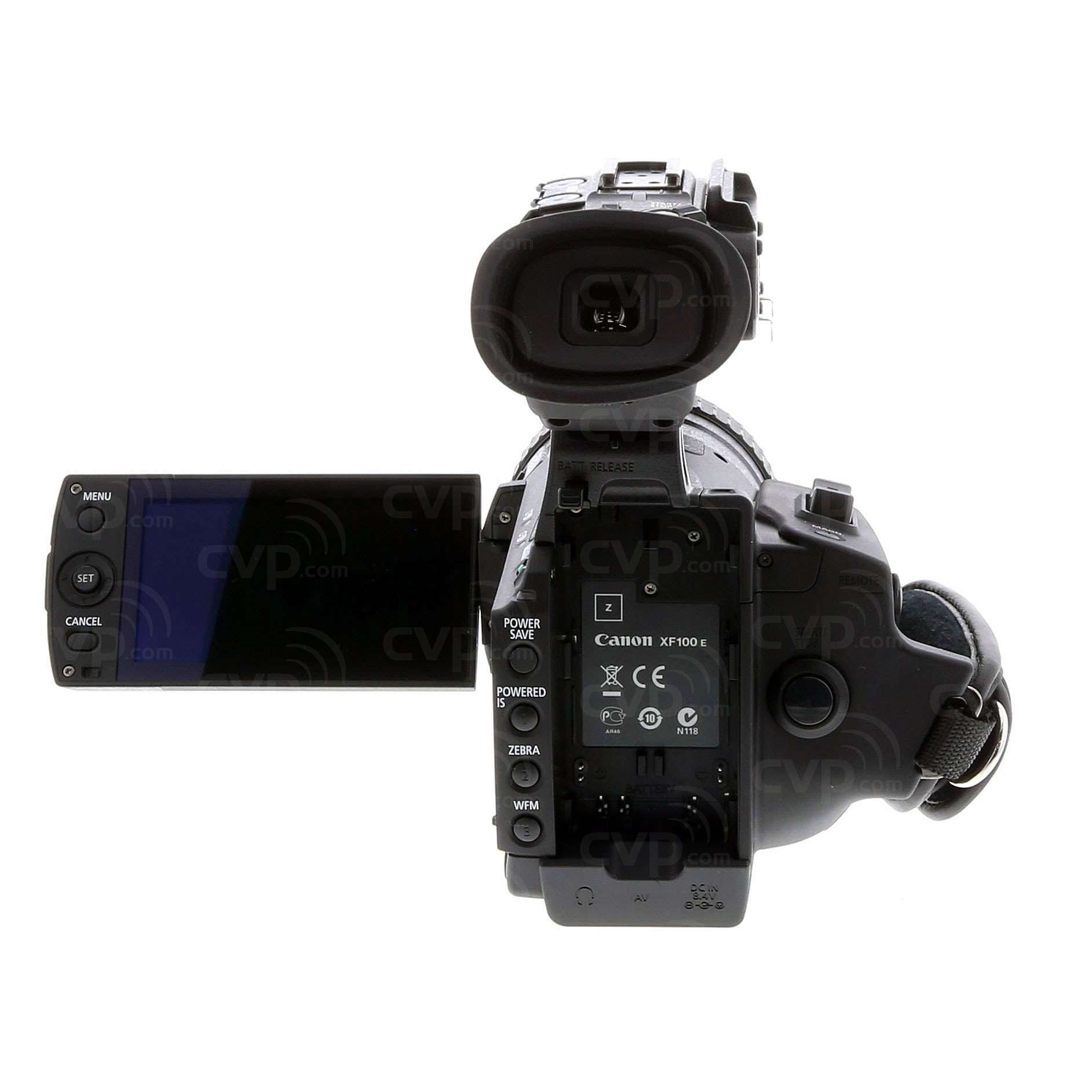Click and Drag to rotate image  sc 1 st  CVP.com & Buy - Pre-Owned Canon XF100 (XF-100) Full HD Professional Camcorder ...