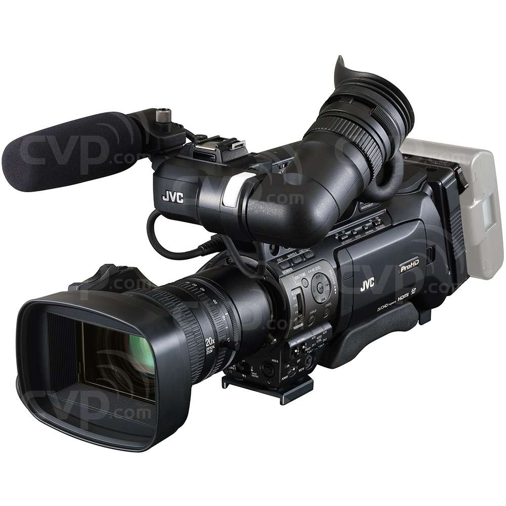JVC GY-HM890 Full HD Shoulder-Mount ENG/Studio Camcorder with 3x 1/3