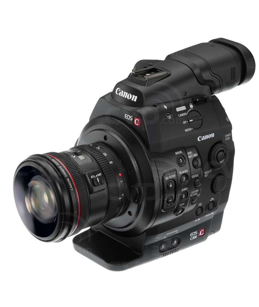 Canon Cinema EOS C300 Fisheye (not supplied)