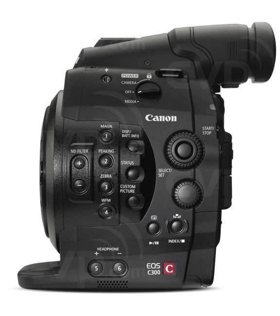 Canon Cinema EOS C300 Side view