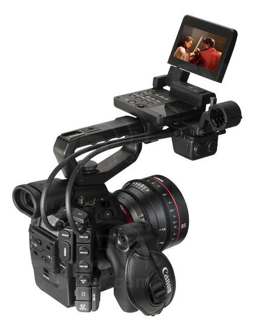 Canon Cinema EOS C300 Full setup