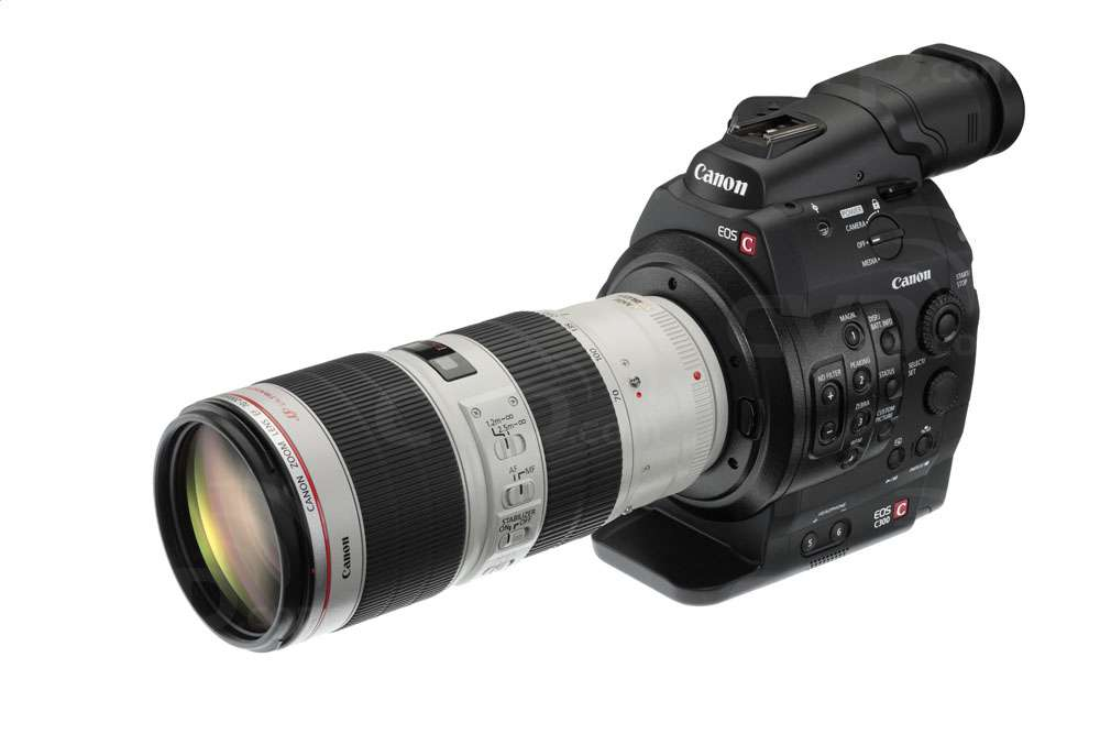 Canon Cinema EOS C300 70-200 (lens not supplied)