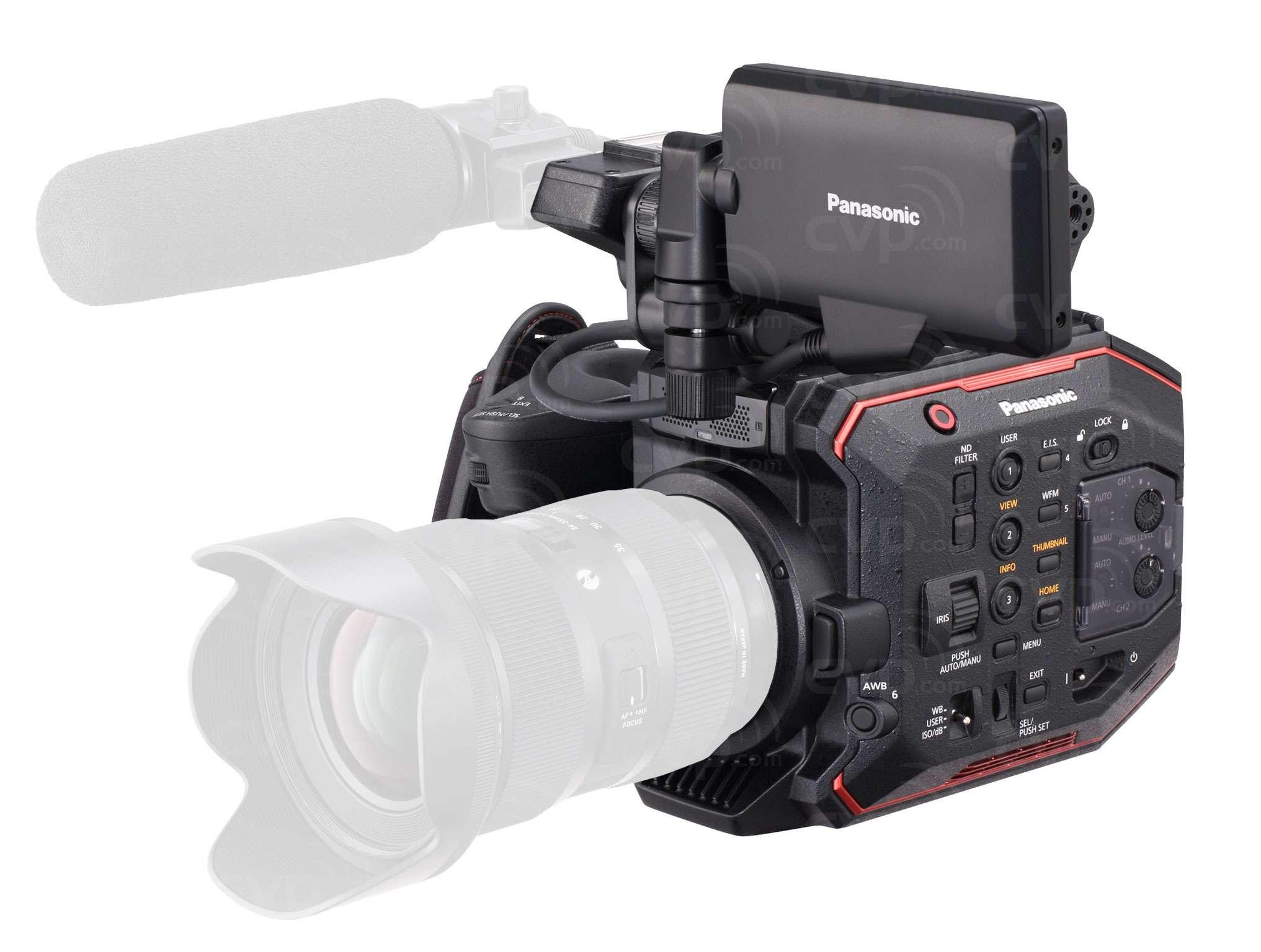 Panasonic AU-EVA1 (AUEVA1) 5.7K EF Mount Compact Super 35mm Cinema