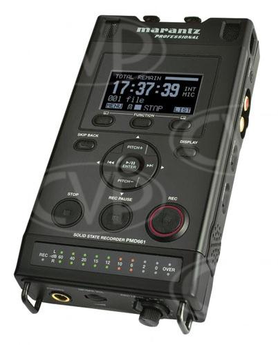 buy marantz pmd661 pmd 661 compact portable solid state digital audio recorder. Black Bedroom Furniture Sets. Home Design Ideas