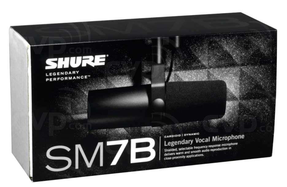 buy shure sm7b sm 7b cardioid dynamic studio vocal microphone. Black Bedroom Furniture Sets. Home Design Ideas
