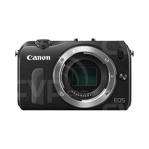 Canon EOS M Twin Lens Kit (Black) 18-Megapixel Camera -