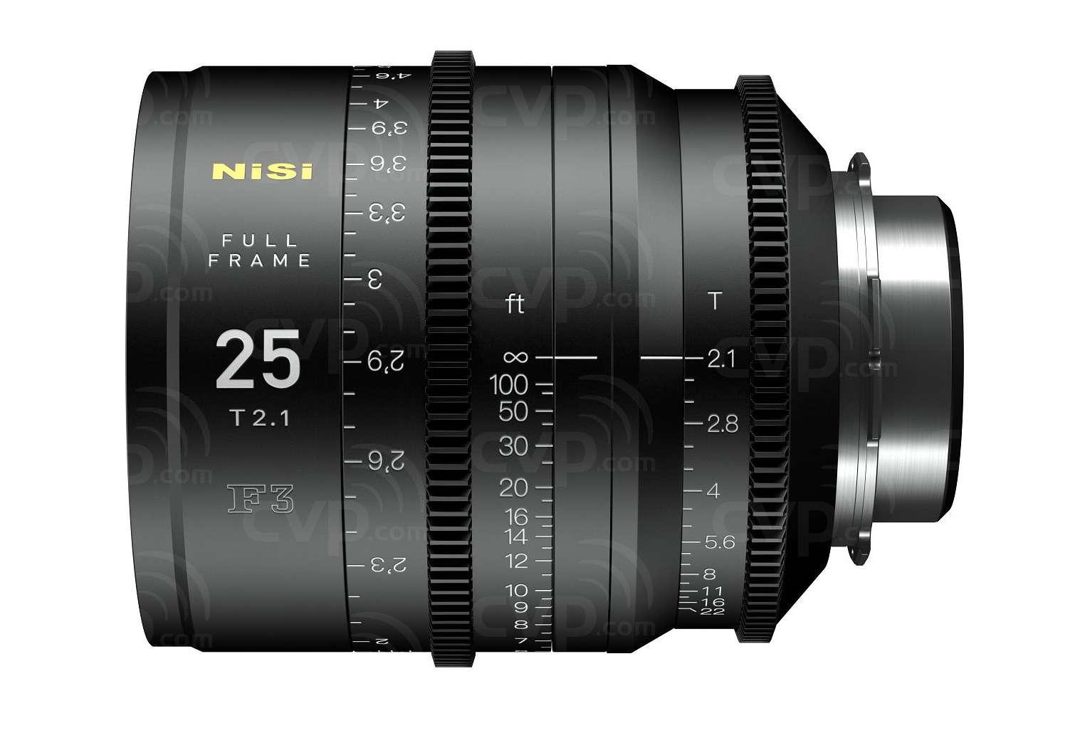 Buy - NiSi NIF3LPLSET (NIF3LPLSET) 5x Full Frame F3 Lens Kit PL ...