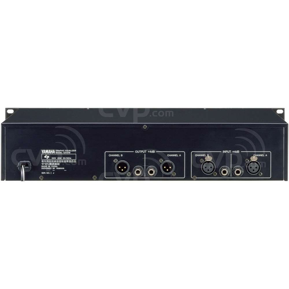 Yamaha Car Audio: Yamaha Q2031B (Q-2031B) Duel 31 Band Stereo Graphic