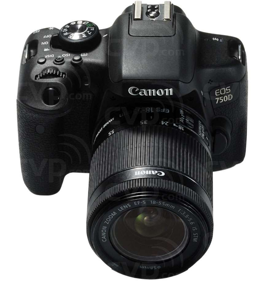 buy canon eos 750d 24 2 megapixel aps c digital slr. Black Bedroom Furniture Sets. Home Design Ideas