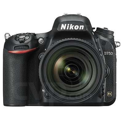 Nikon D750 24.3MP Full Frame Digital SLR Camera Body Only