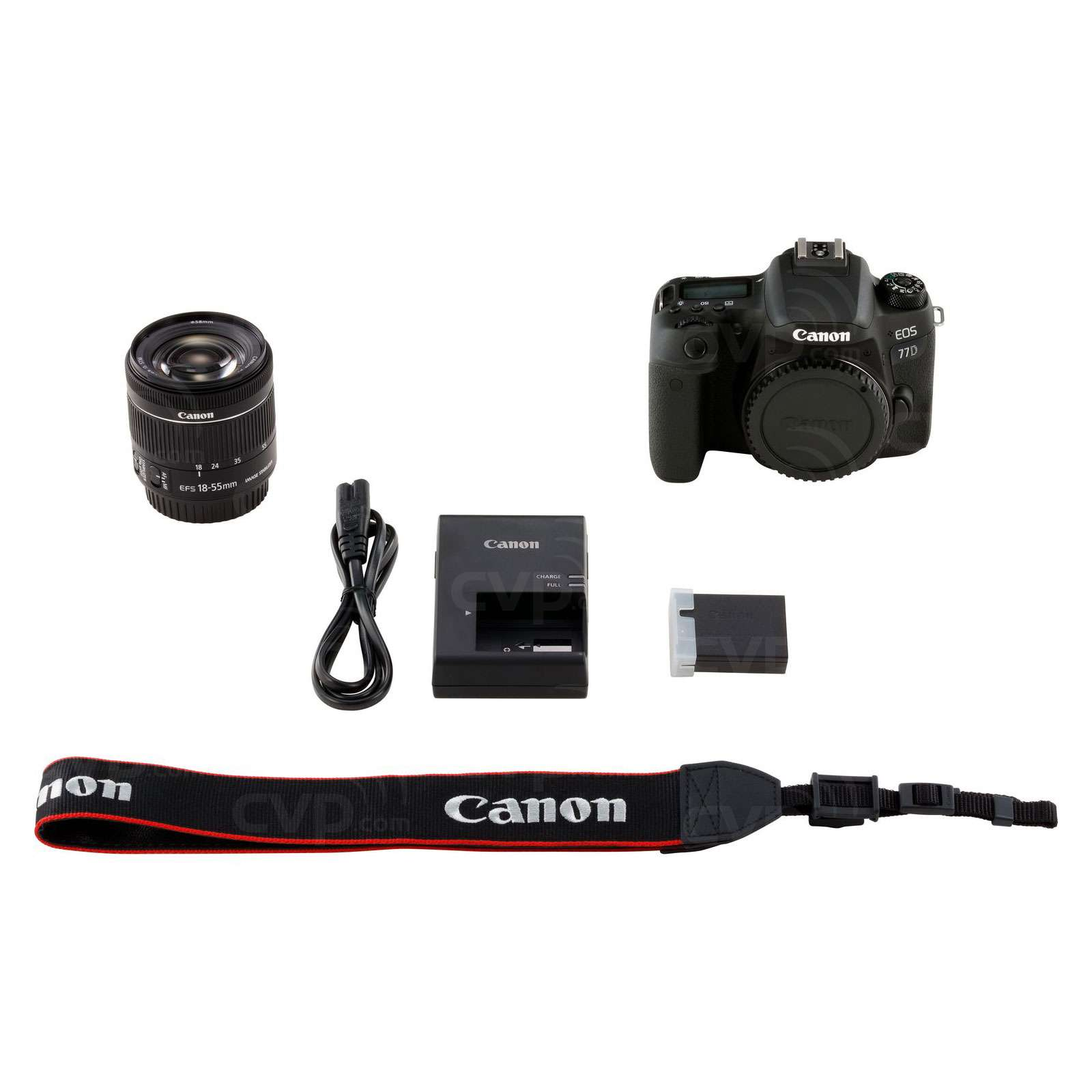 Canon EOS 77D + EF-S 18-55mm f/4-5.6 IS STM Lens
