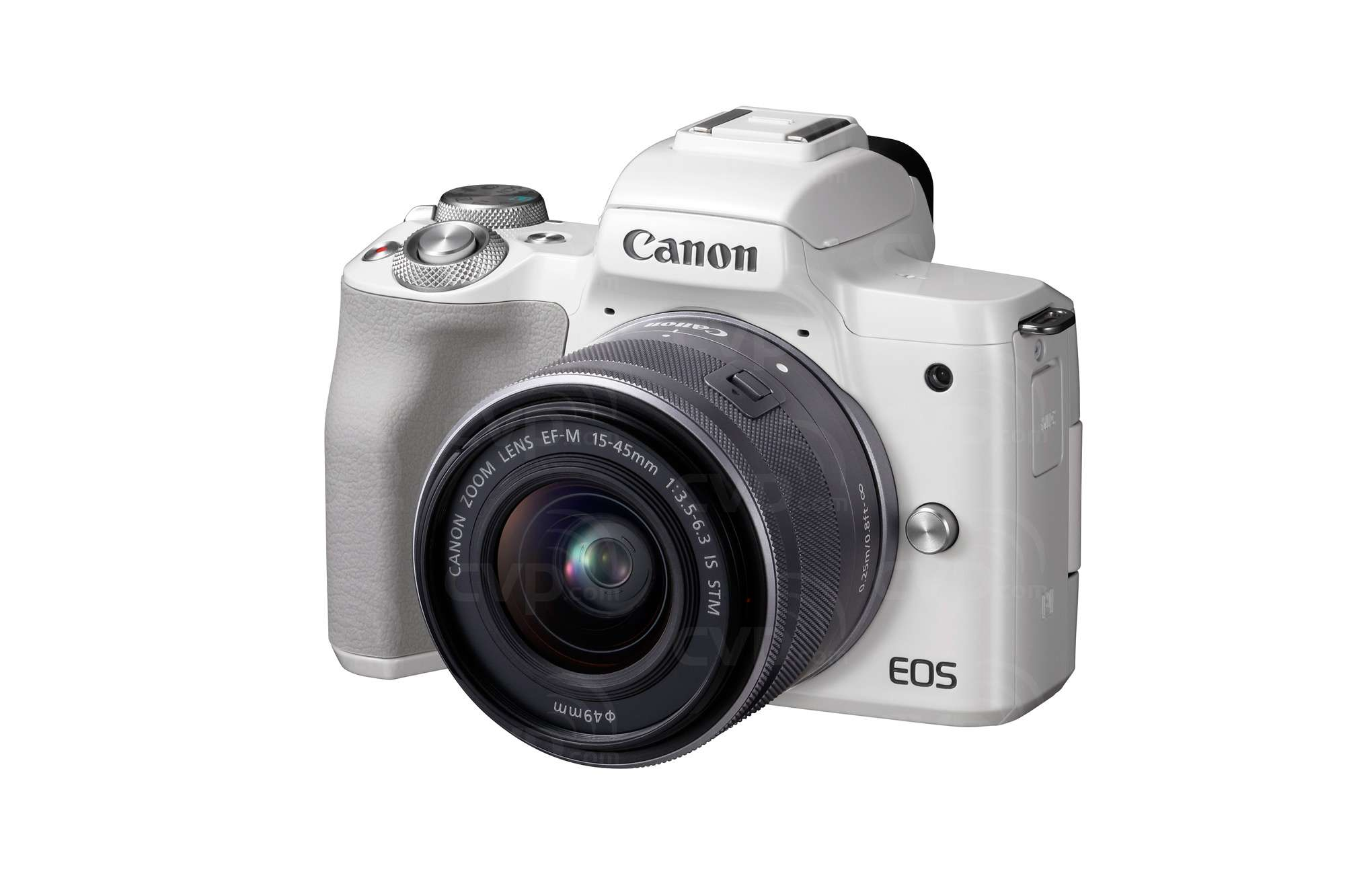 Buy - Canon EOS M50 4K UHD 24.1MP Compact Mirrorless Camera with 15 ...