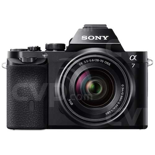 Sony ILCE-7R (ILCE7R) Alpha7 24.3MP Compact System Camera with a