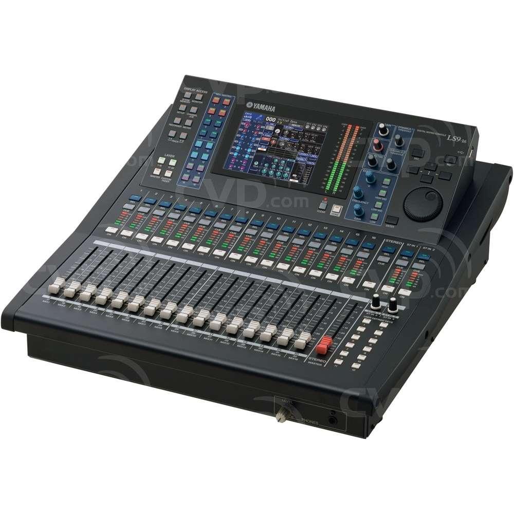 buy yamaha ls9 16 ls916 16 fader 32 channel compact digital rh cvp com Used LS9 Used LS9