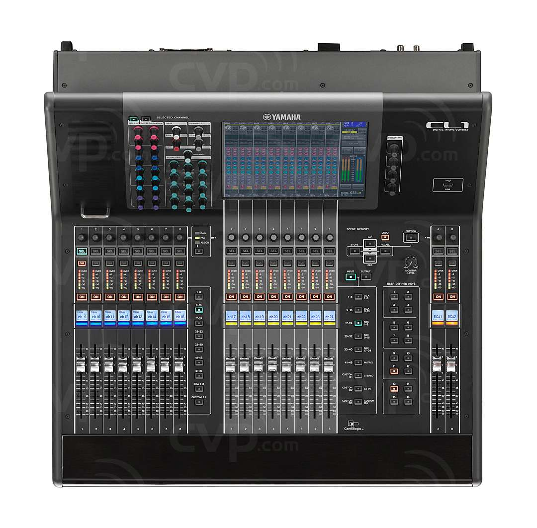 Buy yamaha cl1 cl 1 digital mixing console with 48 for Yamaha cl mixer