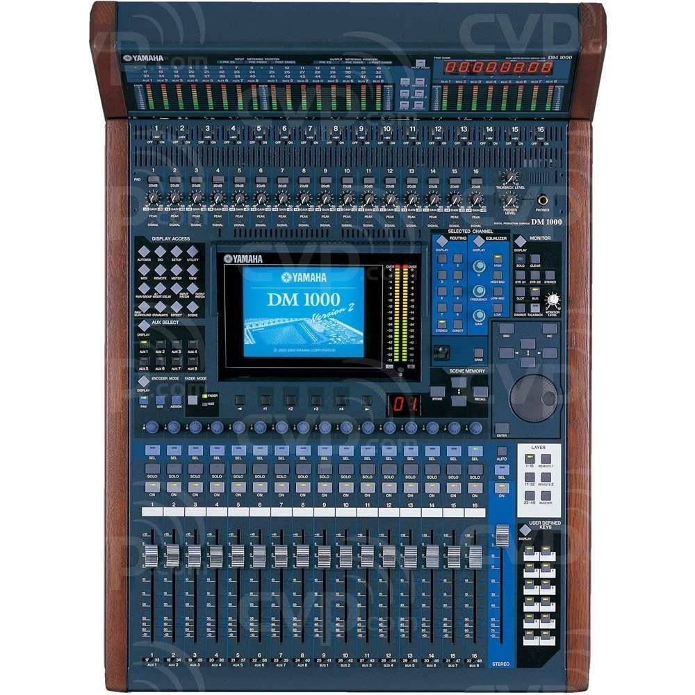 buy yamaha dm1000 vcm dm1000vcm compact 48 channel