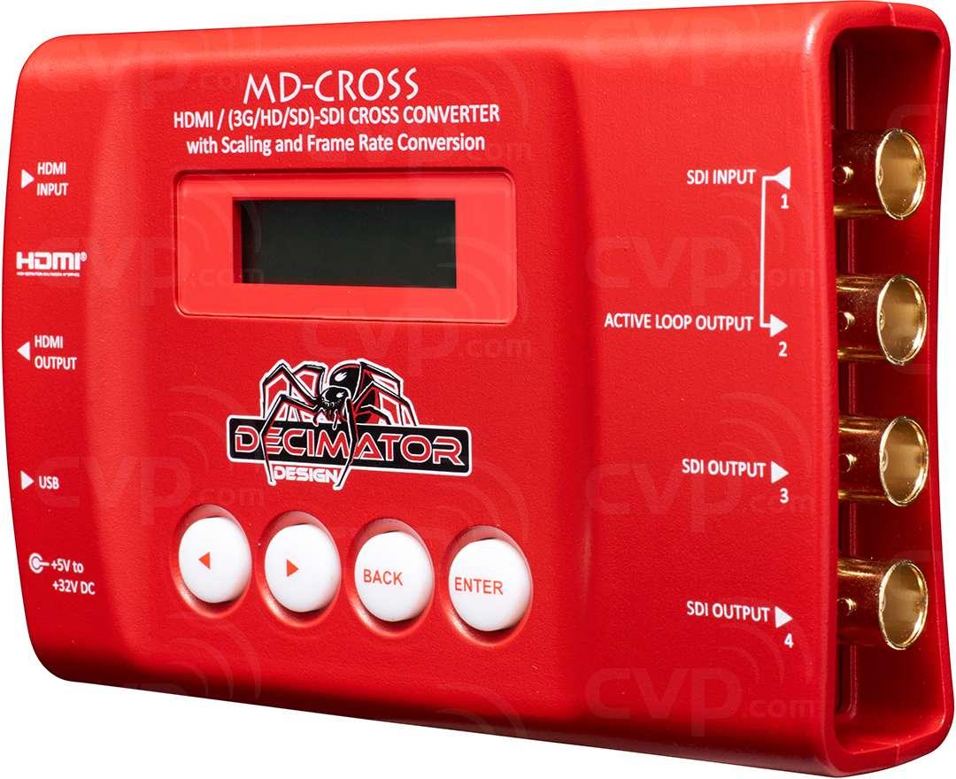 Buy - Decimator Design MD-CROSS (MDCROSS) Miniature HDMI/SDI Cross ...