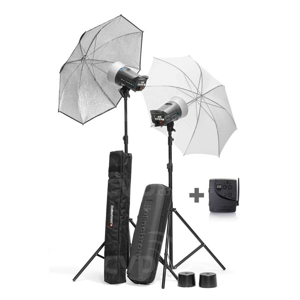 buy elinchrom 20840 200 400 d lite rx 2 4 umbrella set el20840. Black Bedroom Furniture Sets. Home Design Ideas