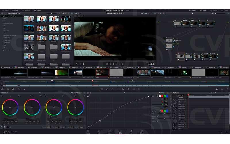 Buy Blackmagic Design Davinci Resolve Studio 16 Editing And Colour Correction Software Activation Key P N Bmd Dv Resstud