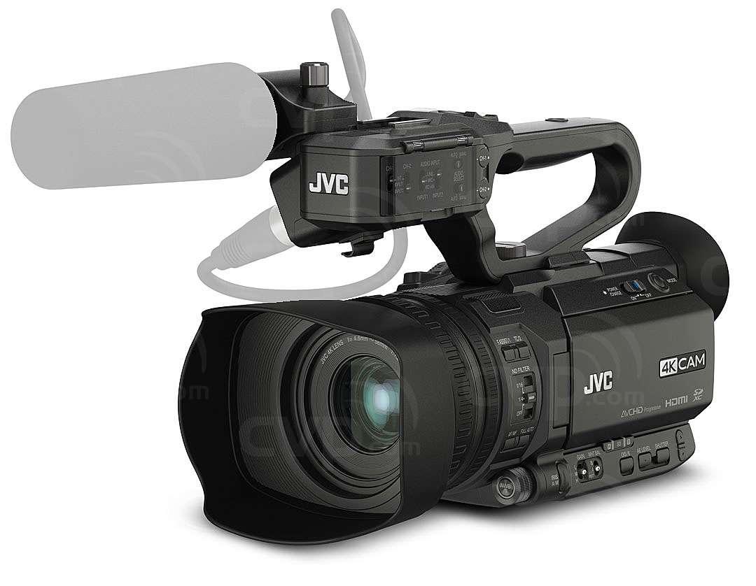 JVC GY-HM170E (GYHM170E) 12.7MP Handheld Compact 4K Ultra HD CMOS