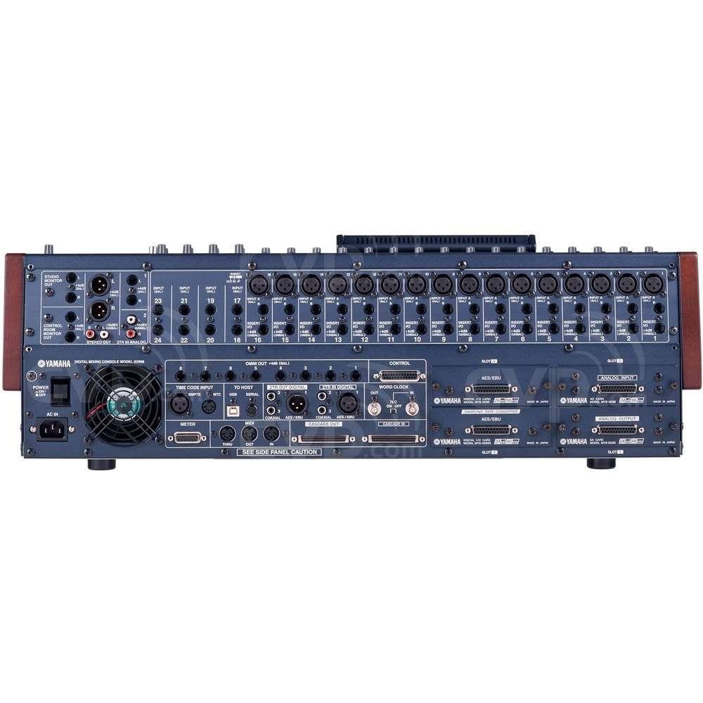 buy yamaha 02r96 vcm 02r96vcm 56 channel digital mixing production console. Black Bedroom Furniture Sets. Home Design Ideas