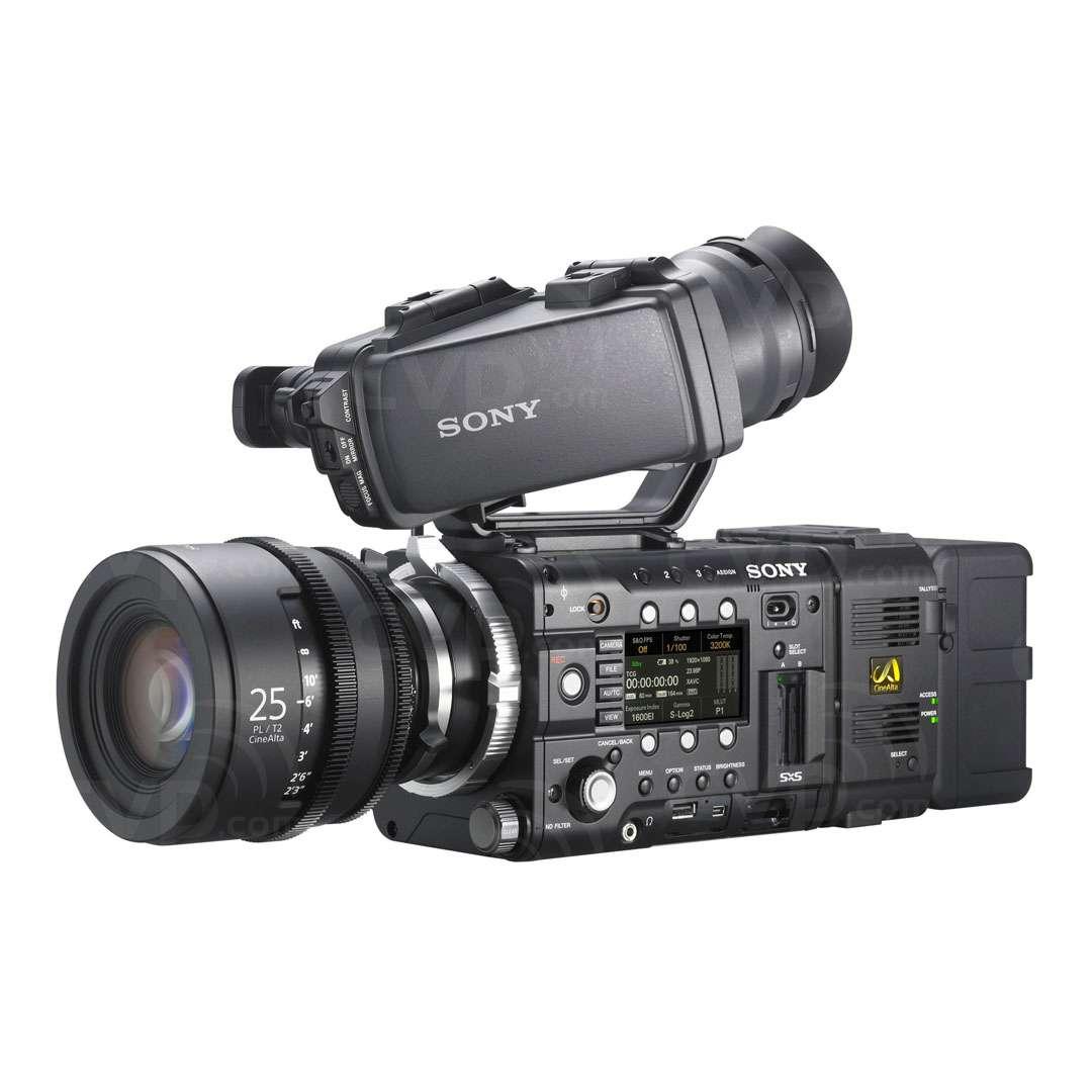 Sony PMW-F5 / 55 FZ lens mount & PL mount