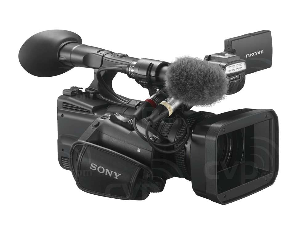 HXR-NX5R Handheld full hd compact camcorder
