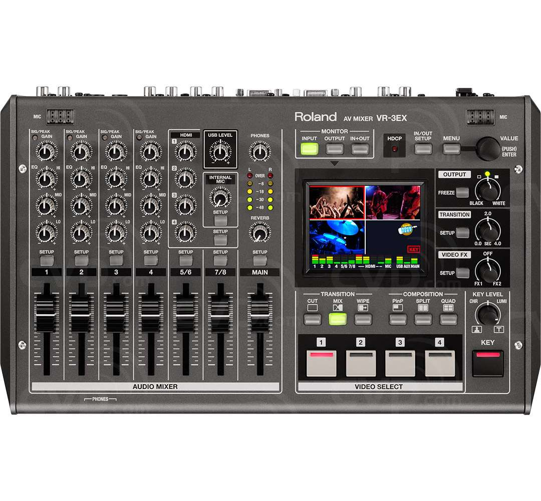 Buy Roland Vr 3ex Vr3ex Portable All In One Av Mixer