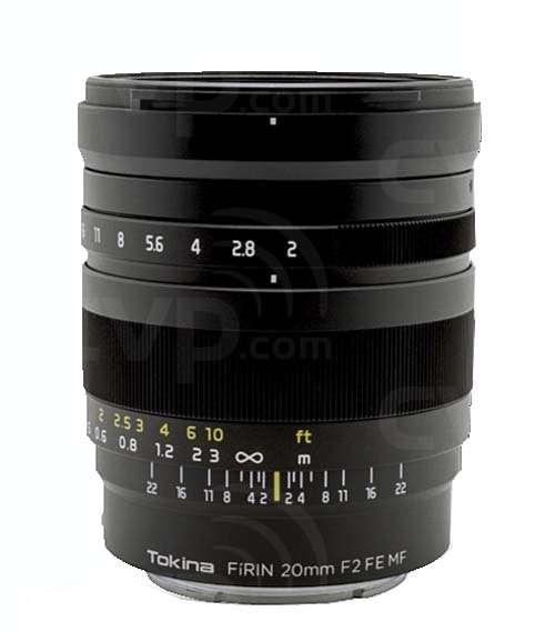 Buy - Tokina 20mm Firin Series F2 FE MF for Sony A7 Full frame Lens ...