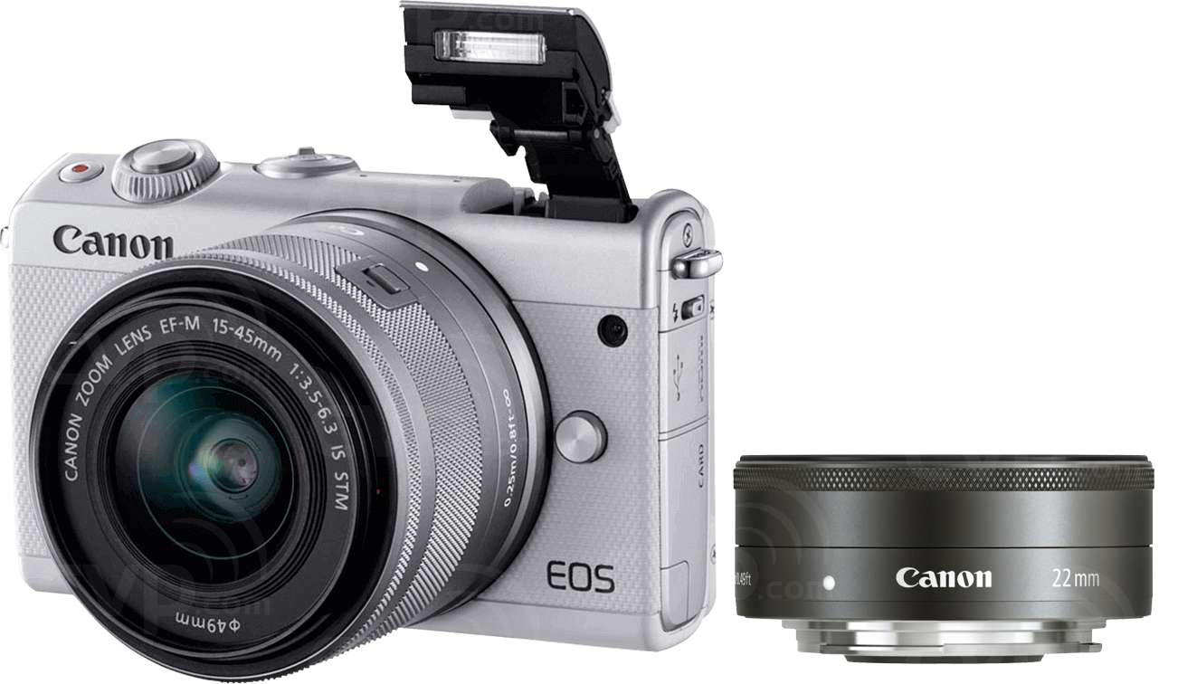 Buy - Canon EOS M100 24.2 Megapixel EF-M Mount Digital Camera with ...