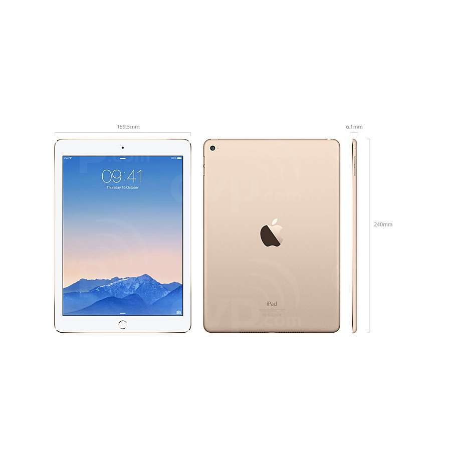 buy apple ipad air 2 wi fi 16gb gold silver or space grey. Black Bedroom Furniture Sets. Home Design Ideas