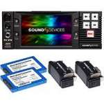 Sound Devices PIX 270i Complete (PIX-270i-Complete) Kit Including 1x PIX 270i Rack Mount Video Recorder, 2x PIX SSD-6 240GB 2.5 inch SATA Drives and 2x PIX-Caddy2 Drive Mounting Accessories