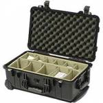 Peli Products 1510WD Waterproof Travel Case with Dividers (Internal Dimensions: W 51.4 cm x D 28.8 cm x H 19.1 cm)