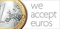 We Accept Euros