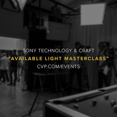 Sony S2F Available Light Masterclass Discover the emotional depths and storytelling canvasses achievable only through harnessing the light sources naturally available to you.