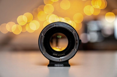 Using a Metabones Speedbooster can really get the most out of smaller sensors. What lens & camera would you use one ...