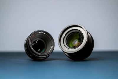 Comparing the past & present from Zeiss. 50mm T1.3 Super Speed MKIII & 50mm F1.4 Milvus.