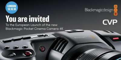 Join us on Wednesday, October 10th at our CVP exclusive event to mark the introduction of the new Blackmagic Pocket ...