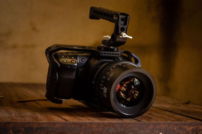 The Blackmagic Pocket Cinema Camera 4K on the set of our short film documenting Blenheim Forge, check it out here ...