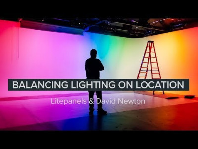 Balancing lighting on location with Litepanels  David Newton Light is the basis of everything you film. Often you'll find yourself in an environment where you can't turn off ...