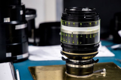 Which lens does our lens engineer have on his desk here?