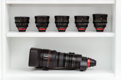 Just a handful of the Canon lenses we have available to test at our Newman Street office! Learn more here ...
