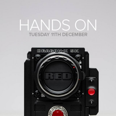 Be the first to view and test RED's latest camera in our beautiful Newman Street space on Tuesday 11th ...