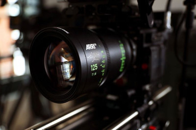 One of our ARRI Signature Primes on our RED Monstro!