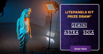 We're giving away a Litepanels professional LED lighting kit! Take your productions to the next level and add a Gemini, ...